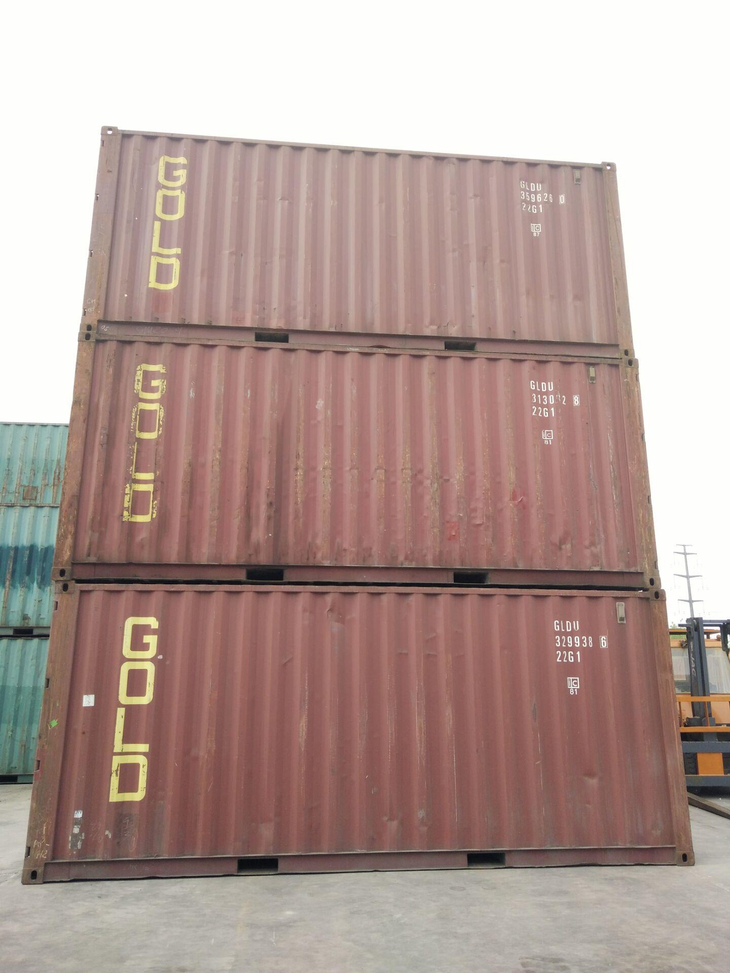 海运二手集装箱销售集装箱仓库二手货柜特种箱