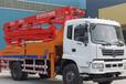 30米混凝土泵車臂架式泵車混凝土輸送泵車參數