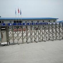 昆山張浦專業制作維修廠房電動門,廠房伸縮門圖片