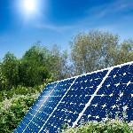 深圳市150W高效单晶硅太阳能电池板图片