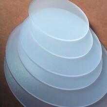 全新日本帝人1250Y新料生产加工的双面磨砂0.5mm的pc扩散板图片