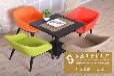 餐厅家具批发简约现代实木餐桌时尚餐厅家具定制