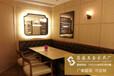 餐廳家具餐桌簡易長方形全實木餐桌椅主題餐廳實木鐵藝餐桌