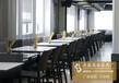 昌盛五金餐厅家具餐桌圆形咖啡桌休闲餐厅餐桌