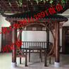 生态木凉亭安装方法防腐木凉亭和花架六角木凉亭图纸亭子制作过程