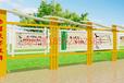 新余宣传栏制造厂家广告灯箱公交站台制造
