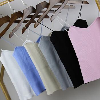 厂家批发春季款韩版女式吊带衫小背心秋冬打底衫一首货源