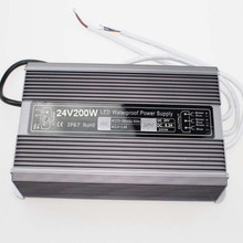LED防水开关电源200W24V恒压电源LED防水驱动电源防雨开关电源