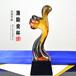 公司激励团队竖大拇指奖杯歌唱比赛奖品颁发琉璃奖杯免费刻字加LOGO