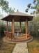 南京户外塑木凉亭WPC环保低碳材料