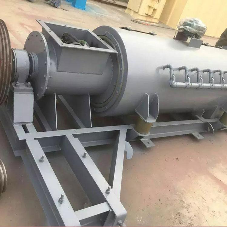柳州小型粉尘加湿搅拌机生产厂家A粉煤灰粉尘加湿搅拌机材质
