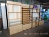 棗莊眼鏡展示柜木紋免漆板立式鐵架眼鏡柜中島展示柜臺