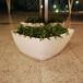 玻璃钢定制花盆哪家便宜质量又好?落地大花钵菱形花盆组合