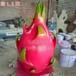 玻璃钢水果雕塑-雨桐玻璃钢雕塑,草莓雕塑,西瓜雕塑水果大集合