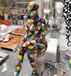 抽象人物雕塑迎賓人物雕塑人物雕塑圖片玻璃鋼雕塑彩繪雕塑