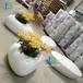 廣東玻璃鋼廠家定制玻璃鋼休閑椅玻璃鋼裝飾工程案例