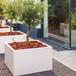大型方形種植池道路裝飾花盆戶外花箱商場花盆定制廠