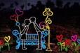 漳州灯光节展览一年四季每个季节主题不同市场不同