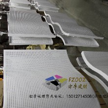 冲孔铝单板厂家最新报价包柱冲孔铝单板价格