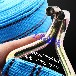 专业出口货物绑带集装箱捆绑带厂家直销收紧带涤纶捆绑带5cm3吨20米