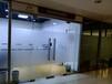 玻璃贴膜磨砂膜logo条彩色防撞制作