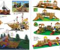 儿童户外实木滑梯生产企业,成都幼儿园木制滑滑梯,各种木制游乐设施