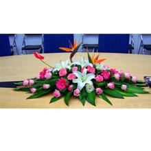 南宁东盟商务区讲台花-国际会展中心桌台花-开业花篮-花车拱门