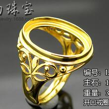 925银空托戒指男款新款独家设计欧式镶嵌戒指广州首饰厂金银首饰批发