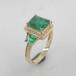 優質金銀戒指批發采購廣州首飾工廠供應925銀鑲嵌空托K金定做首飾加工廠家