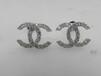 新款耳釘18K金耳飾批發鑲嵌銀托代加工藍珀琥珀珍珠圓珠飾品禮品定制首飾加工