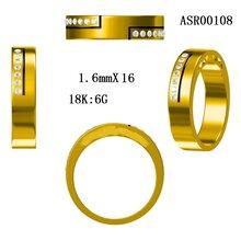 珠宝制造商厂家新款戒指K金首饰配件批发首饰宝石空托镶嵌个性定制