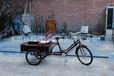 热销供应人力环卫脚踏车脚踏拉货三轮车环卫三轮车批发