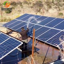 设计配置供应YCSJ18.5光伏提水系统/太阳能抽水机,扬程121m,流量20m³/h