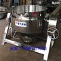 山东夹层锅优质厂家带盖带搅拌夹层锅倾斜燃气夹层锅图片