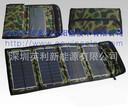 可多为SZYL-SFP-07太阳能充电器便携户外折叠包7W太阳能充电宝图片