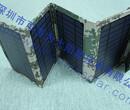 可多为太阳能充电器便携户外折叠包14W太阳能充电宝手机移动电源图片