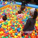 海洋球8公分加厚弹力球婴儿玩具球池宝宝玩具儿童彩色球波波球