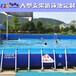 大型户外水上乐园定做支架水池水上滑梯儿童充气滑梯水池组合