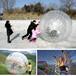 草地悠波球PVC充气草地球水上跑步充气悠波球透明TPU充气雪地球