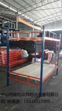 横栏货架工厂组合员工床压入式货架悬臂架横栏货架工厂图片