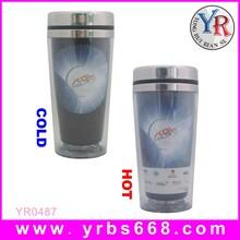 厂家直销双层不锈钢变色杯创意保温杯201不锈钢广告杯定制