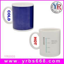 厂家批发感温变色陶瓷杯陶瓷变色杯定制马克杯礼品纪念品