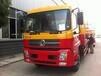 零首付的解放平板车拖车13吨挖机运输车