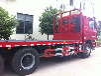 分期付款买平板运输车挖机运输车拖车