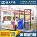 社区垃圾分类亭镀锌板时尚垃圾桶分类摆放亭专业分类亭制作厂家