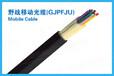 供应内蒙赤峰野战移动光缆(GJPFJU)