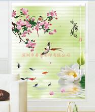 2017个性窗帘印刷设备东芝uv平板打印机3D竹帘画万能打印机