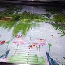 东芝uv平板打印机厂家竹帘uv喷墨万能打印机竹木纤维板印花机