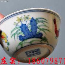 景德镇陶瓷鸡缸杯手绘斗彩明成化鸡缸杯厂家直销