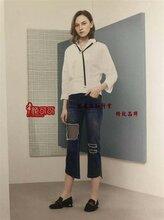 上海七浦路品牌折扣女装货源昆诗兰女装厂家直批限量供应